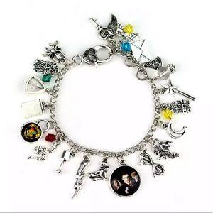 🧙♂️ Handmade Harry Potter charm bracelet 🧙♂️
